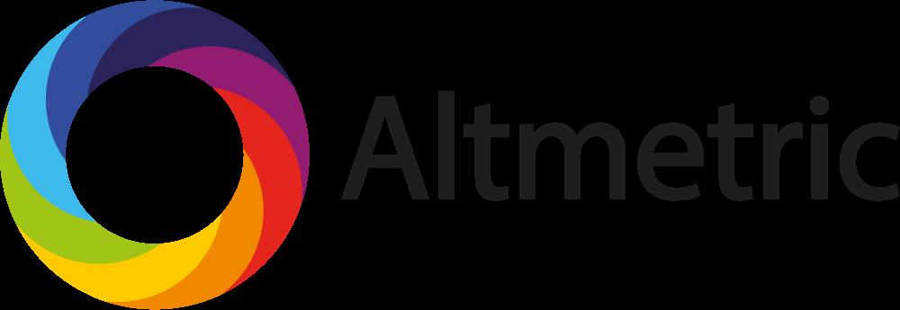 logo for Altmetric, rainbow coloured wheel